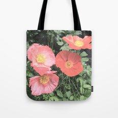 Papaveraceae Tote Bag