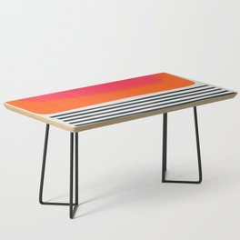 Sunset Ripples Coffee Table