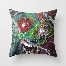 Fear Equals Rage Throw Pillow