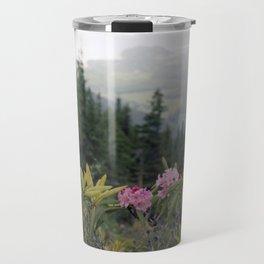 Rhododendron Mountain Travel Mug