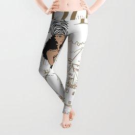 Kayla Royal Leggings