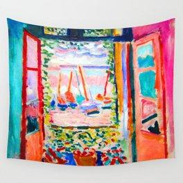 Henri Matisse Open Window Wall Tapestry