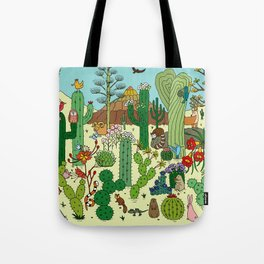 Arizona Desert Museum Tote Bag
