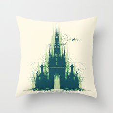 Dizzyney Land Throw Pillow