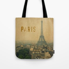Paris, je t'aime... Tote Bag