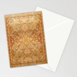 Oversized Antique Turkish Oushak Rug Print Stationery Cards