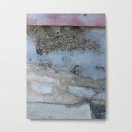 Cinder Wall Metal Print