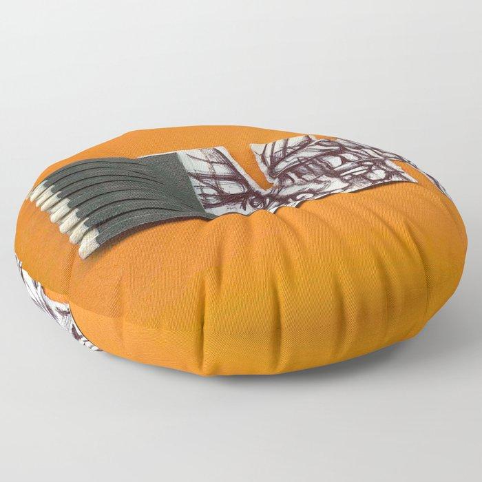 Midnight Brooklyn Floor Pillow