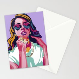 Summertime sadness Stationery Cards