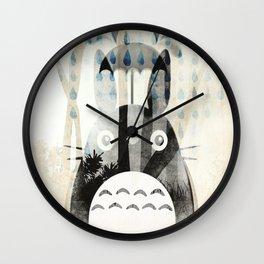 RainyTotoro Wall Clock