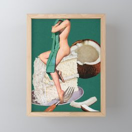 Vanilla Framed Mini Art Print