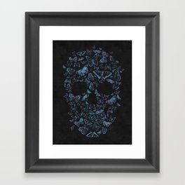 Skull Butterfly 4 Framed Art Print