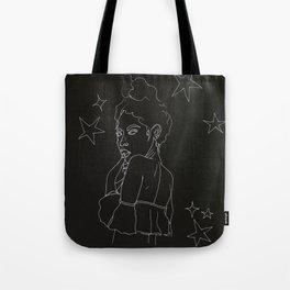 star girl inverse Tote Bag