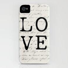 love Slim Case iPhone (4, 4s)