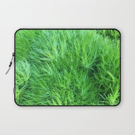Dianthus Green Trick Laptop Sleeve