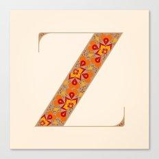 Z - Amarilis Canvas Print