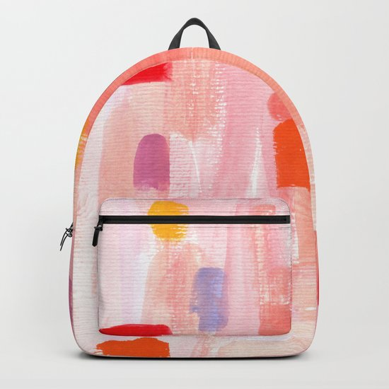Put Sorrows In A Jar - abstract modern art minimal painting nursery by lennaarty
