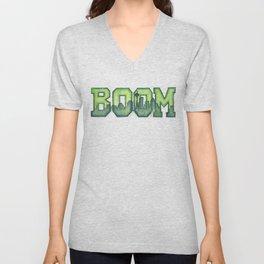 Legion of Boom Seattle 12th Man Art Unisex V-Neck