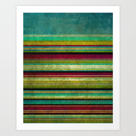 Brighton Rock Art Print