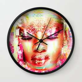 Africa calling Wall Clock