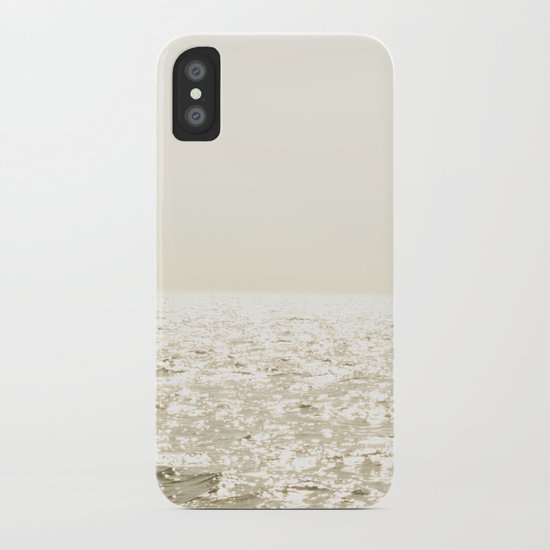 Sea and Sky Ombre iPhone Case