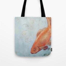 Goldfish, Life Study Tote Bag