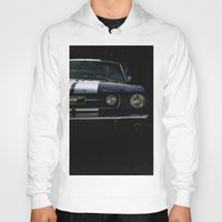 mustang Hoodies featuring MUSTANG by David Bascuñana
