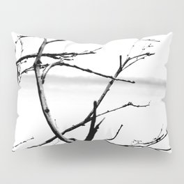 Lonely Branches Pillow Sham