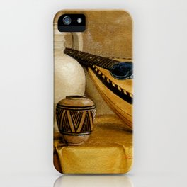 Mandolin At Rest iPhone Case