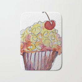 You're a Cupcake Bath Mat