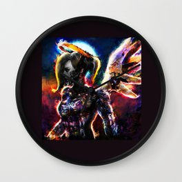 metal angel Wall Clock
