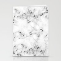 marble Stationery Cards featuring Real Marble  by Grace
