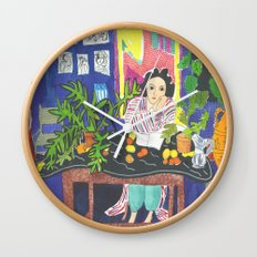 Matisse#1 Wall Clock