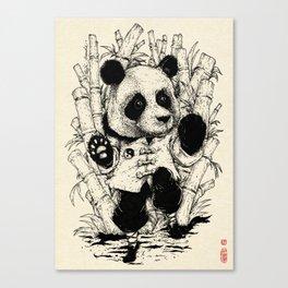 Taiji Panda Canvas Print