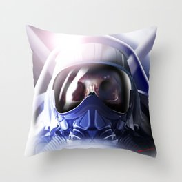 DEATH AT 250M Throw Pillow