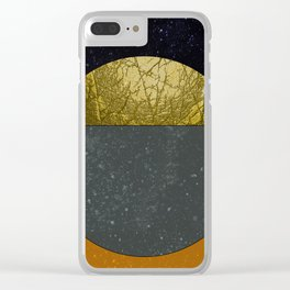 Abstract #111 Clear iPhone Case