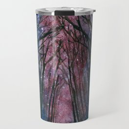 Starlit forest Travel Mug