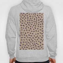 Little leopard skin pop trend animal fur panther pink peach Hoody