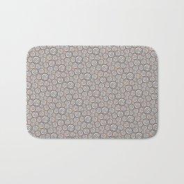 Circles Pattern -Tobiko #abstract Bath Mat