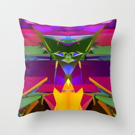 3D27 Throw Pillow