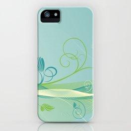 Dandelion Breeze iPhone Case