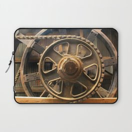 Gears of the Past Laptop Sleeve