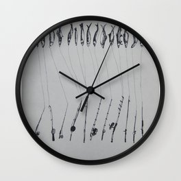 save sardines Wall Clock