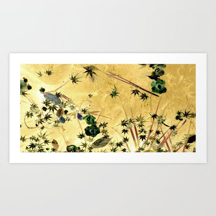"""Far East Floaters"" Art Print"