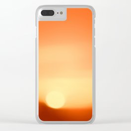 Day Is Done Clear iPhone Case
