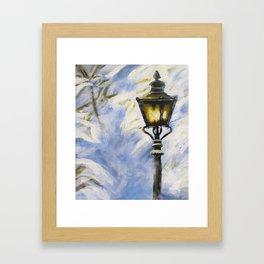 The Lamppost Framed Art Print