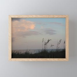Dusk on the Beach - St. George Island, Florida Framed Mini Art Print