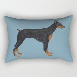 Doberman Dominique Rectangular Pillow