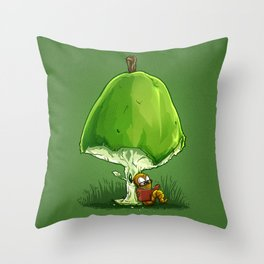 BookWorm Throw Pillow