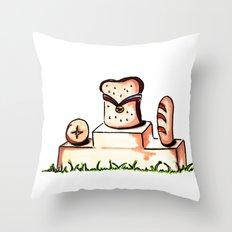 Bread Winner Throw Pillow